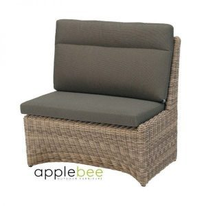 Esquina modulaire dining loungeset hoekdeel links wicker