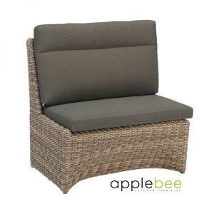 Esquina modular dining loungeset corner right wicker