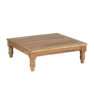 Kawan XL lounge square coffee table recycled teak