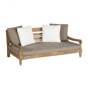Kawan XL lounge bench recycled teak