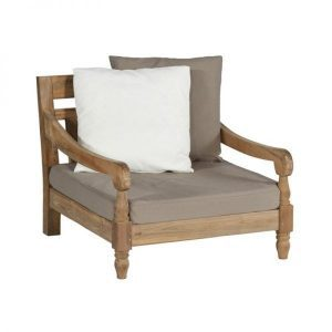 Kawang XL lounge chair recycled Teak from Exotan