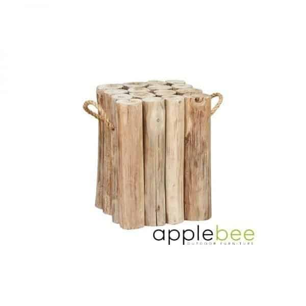 Root Items Twiggy teak houten bijzettafel