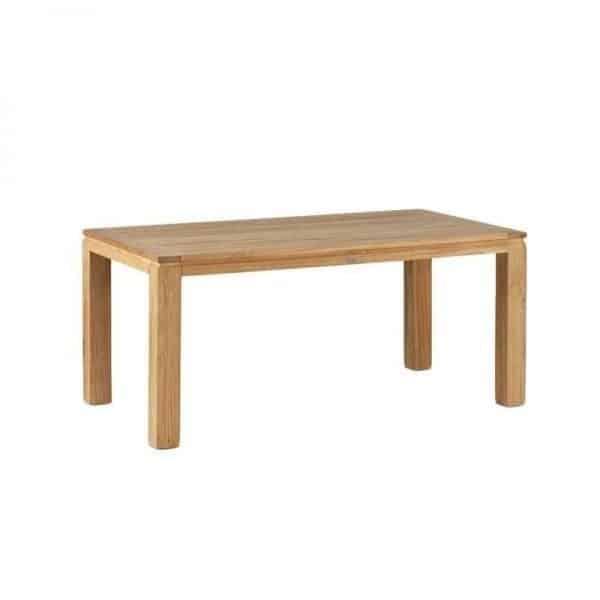 Stella solid FSC teak garden table