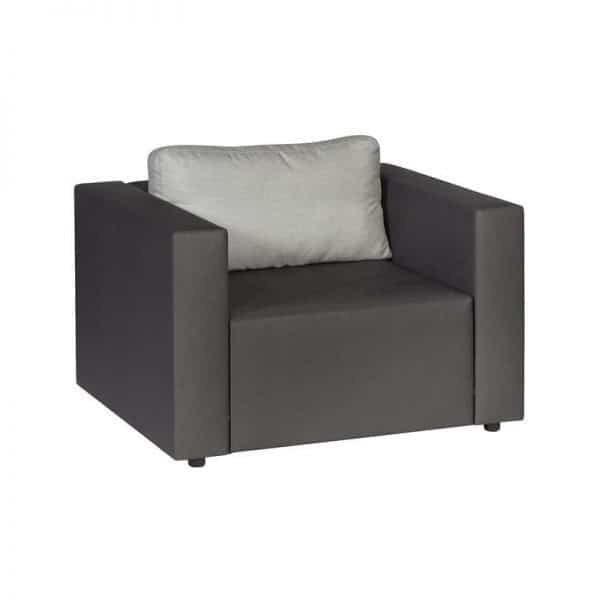 Triniti Maxx silvertex tuin lounge stoel van Exotan