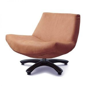 Coco swivel chair in Rancho premium leather