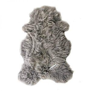 Dyreskinn Schafsfell grau
