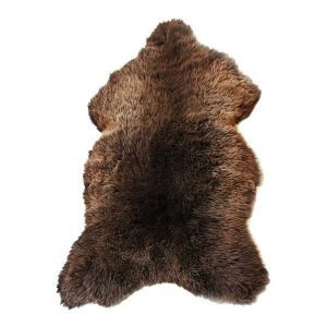 Dyreskinn sheepskin brown