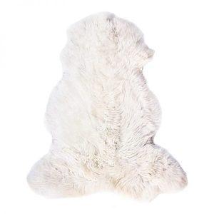 Dyreskinn schapenvacht room wit