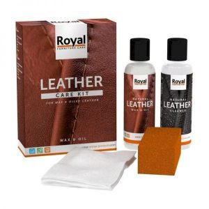 Oranje leather Care Kit Wax and Oil