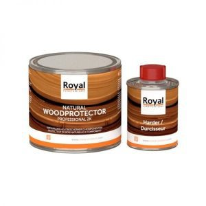 Oranje Natural wood protector 2k