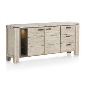 Kaprun dressoir acacia tibet grey 34433