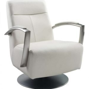 Lagos Swivel Armchair Fabric or Leather