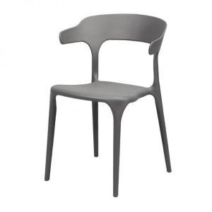 Aero Curved Dining Chair polypropylene