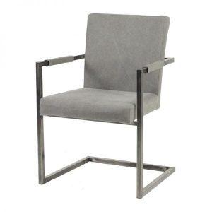 Almas Industrial Dining Chair