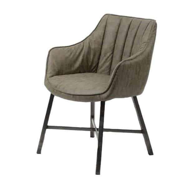Nalvio dining room armchair in PU leather