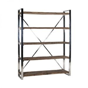 Kensington bookcase recycled wood