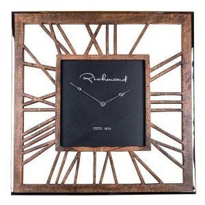 Everson square aluminum wall clock Richmond