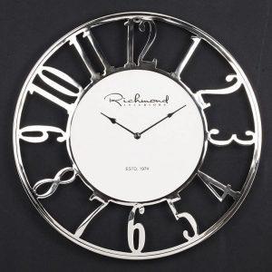 Westin Aluminum and Glass Wall Clock
