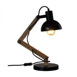 Lizz verstelbare tafellamp hout