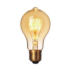 Filament rustieke spiraal kooldraadlamp Retro 25 Watt