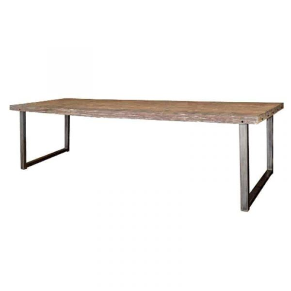 Railwood industrial dining room table from MySons