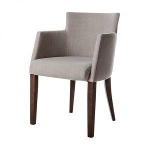 Soho stoel met ronde rugleuning stof Casa Just Design