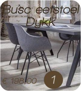 Top 5 2019 - 1 Busc kuipstoel Dyyk