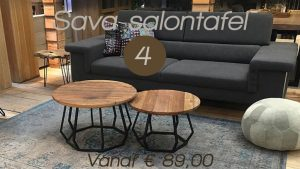 Top 5 2019 - 4 Sava salontafel