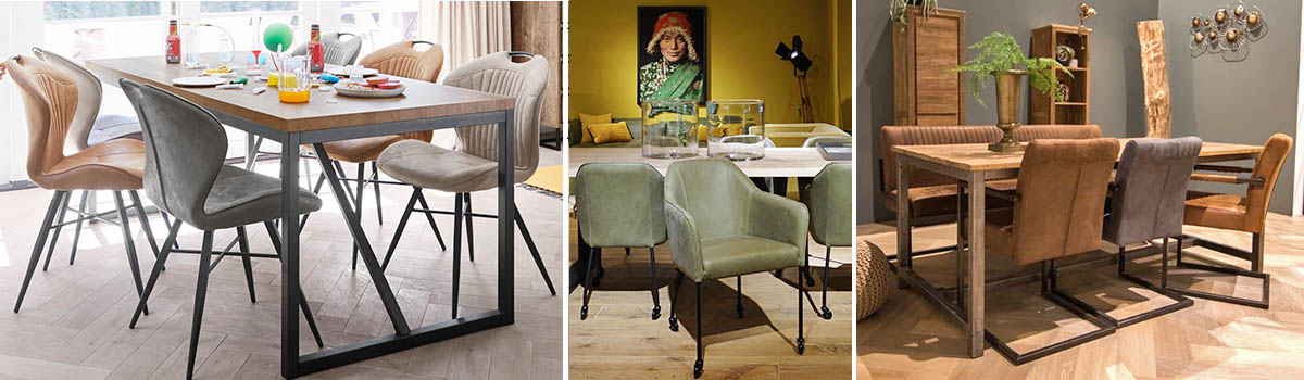 Dining chairs header sfeer