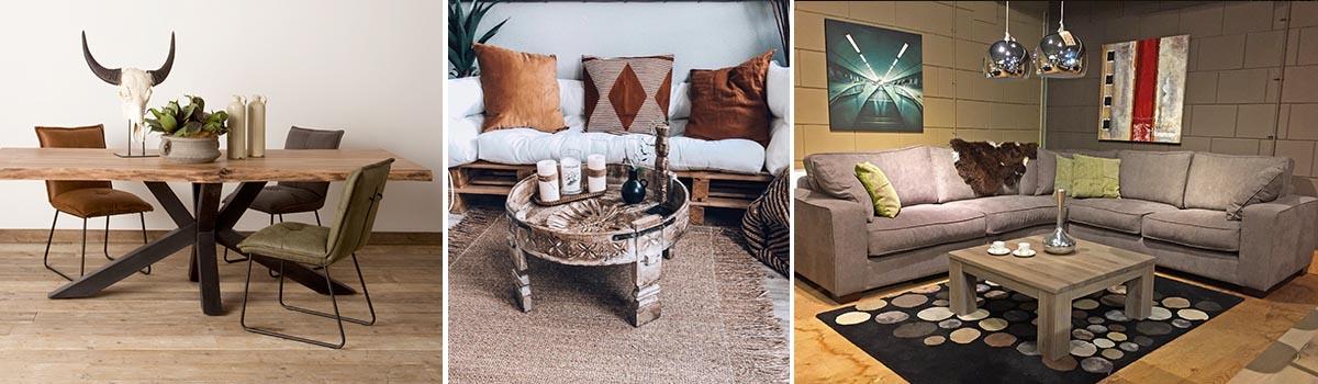 Woonkamer meubelen sfeer