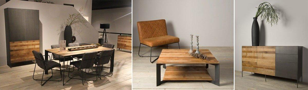 Pandora Recycled Teak En Metal Global Furniture Webshop